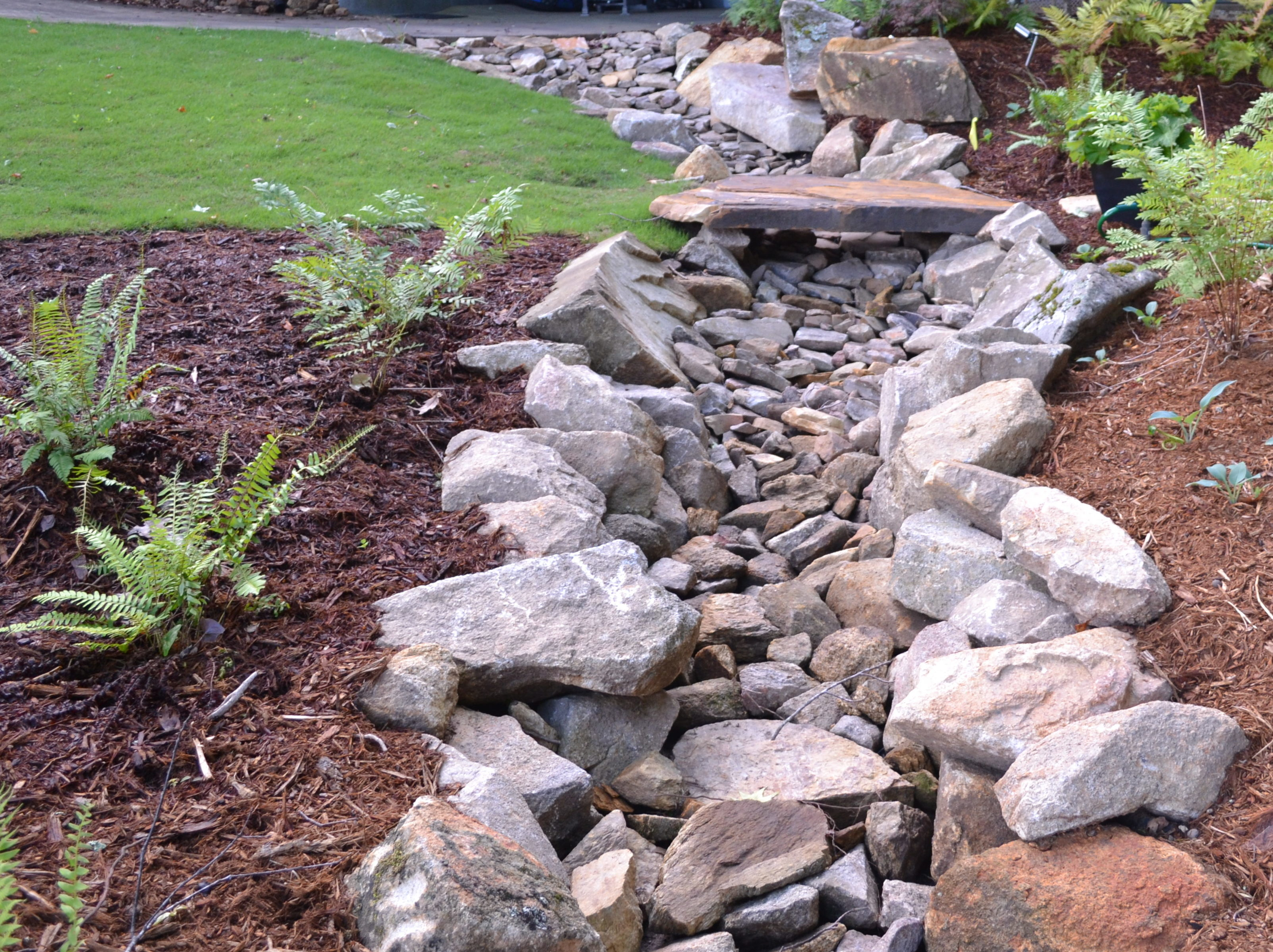 Drainage Solutions Hilltop Landscaping Llc